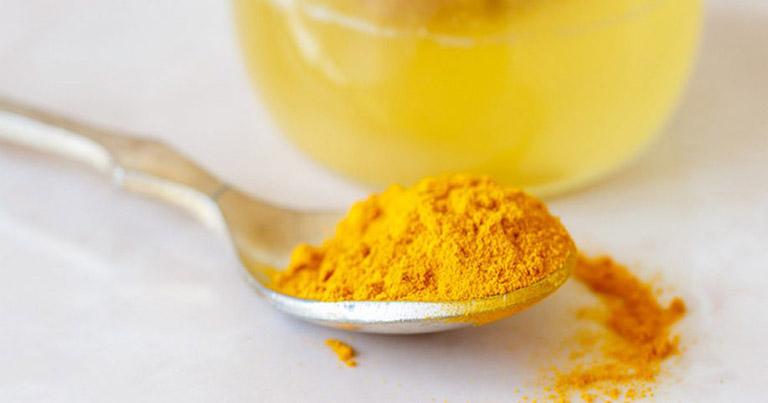 chữa viêm loét dạ dày bằng mật ong và nghệ