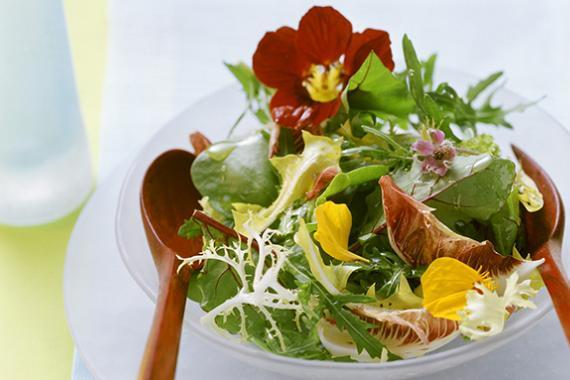hoa tươi ăn được